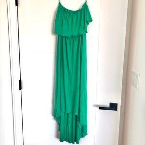 Mossimo x Target Strapless Hi-low dress